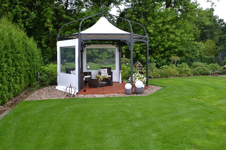 Luxus garten  Stahl Pavillon Luxus_23:16:16 ~ EgeNis.com : Inspirierend Garten ...